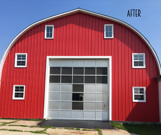 Classic Exterior Red Barn