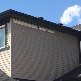 Repair - Missing or Blown off Siding